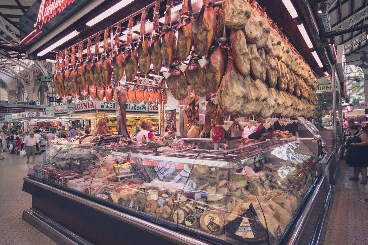 Mercado Central: największy targ w Walencji