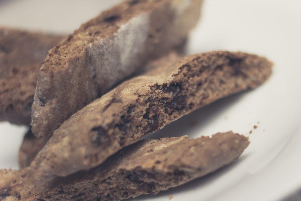 Biscotti (cantuccini) czekoladowe Paula Hollywooda