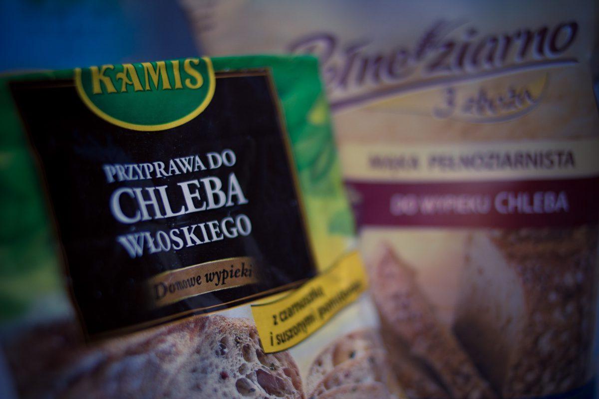 Pełnoziarnisty chleb z oliwkami
