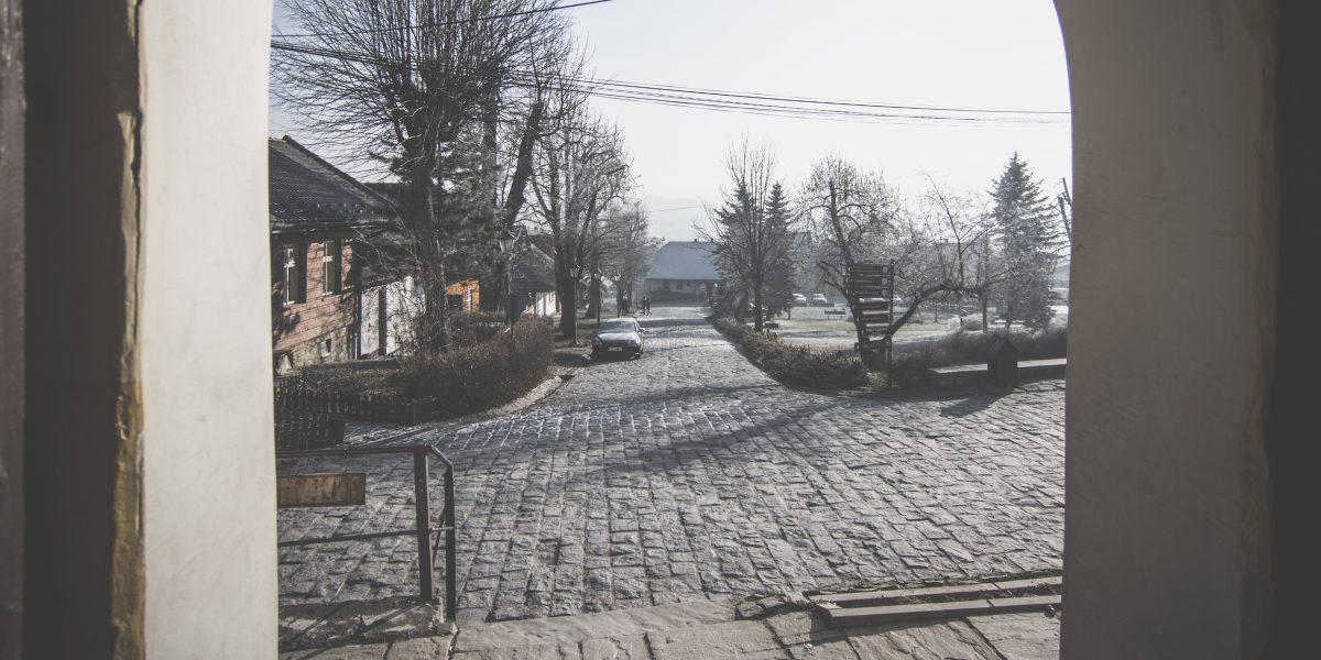 Lanckorona zimą