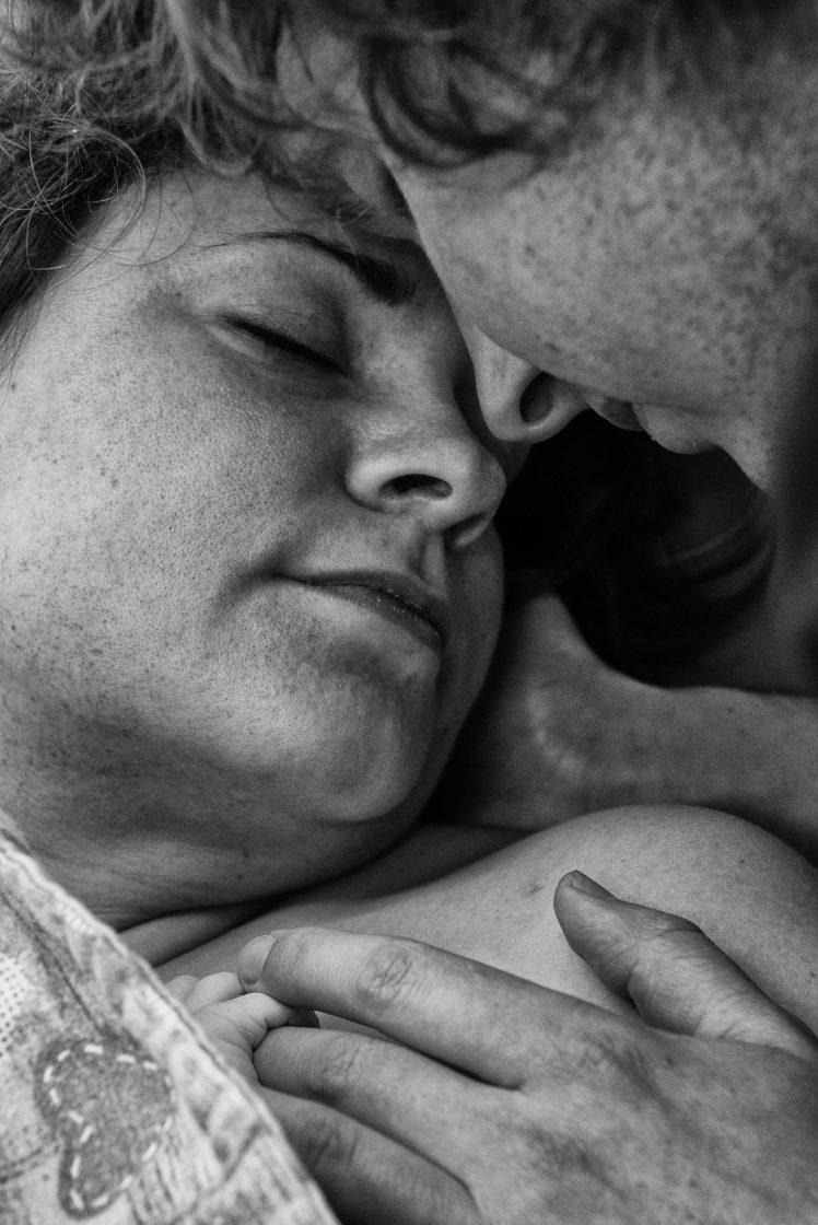 Fotograf podczas porodu