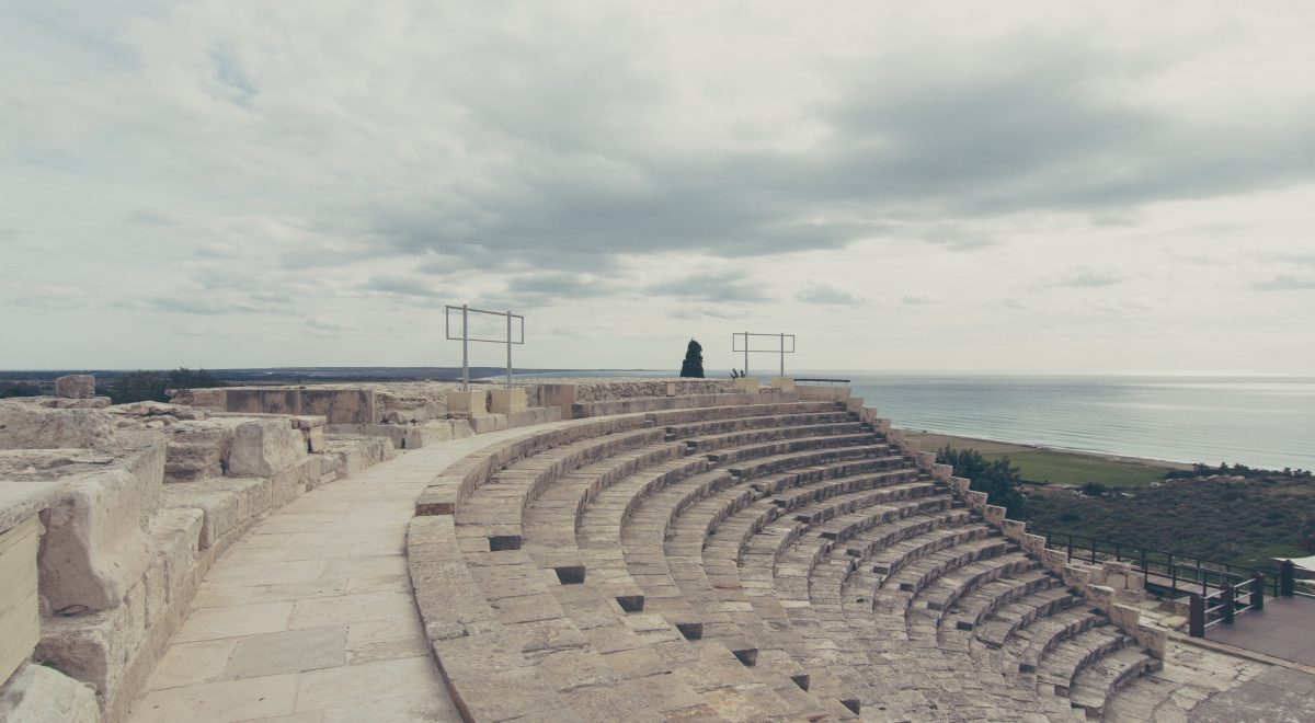 Miasto antyczne: Kourion na Cyprze