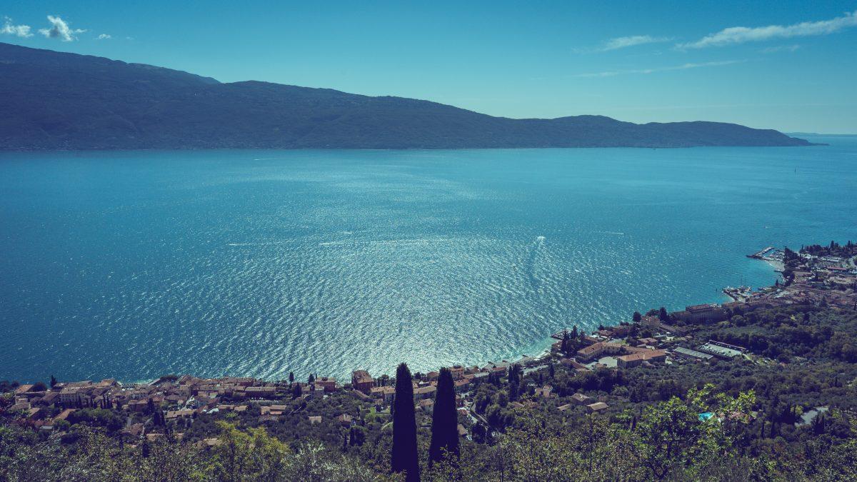 Cima Comer nad jeziorem Garda