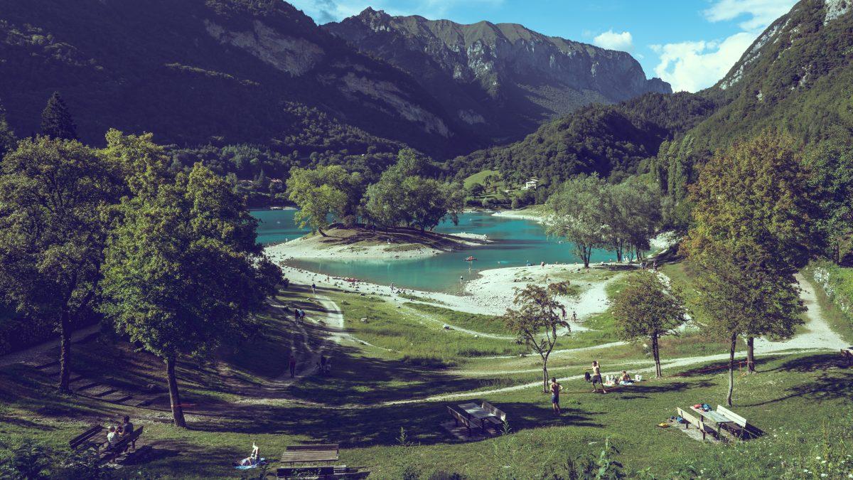 Lago di Tenno - alpejski raj na ziemi